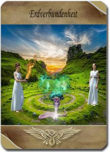 Tageskarte Seelenliebe - Erdverbundenheit: kartenlegen-beratung.com
